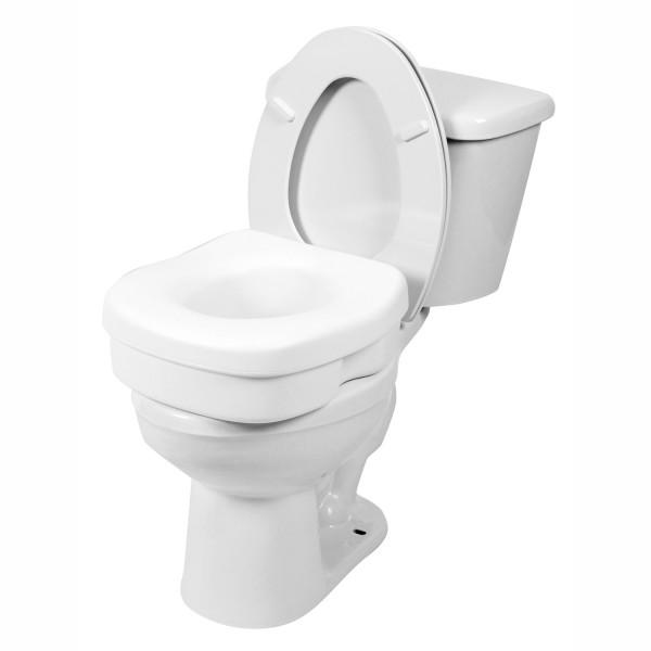 7011 Molded Toilet Seat Riser, Interchangeable Non-Locking Setup