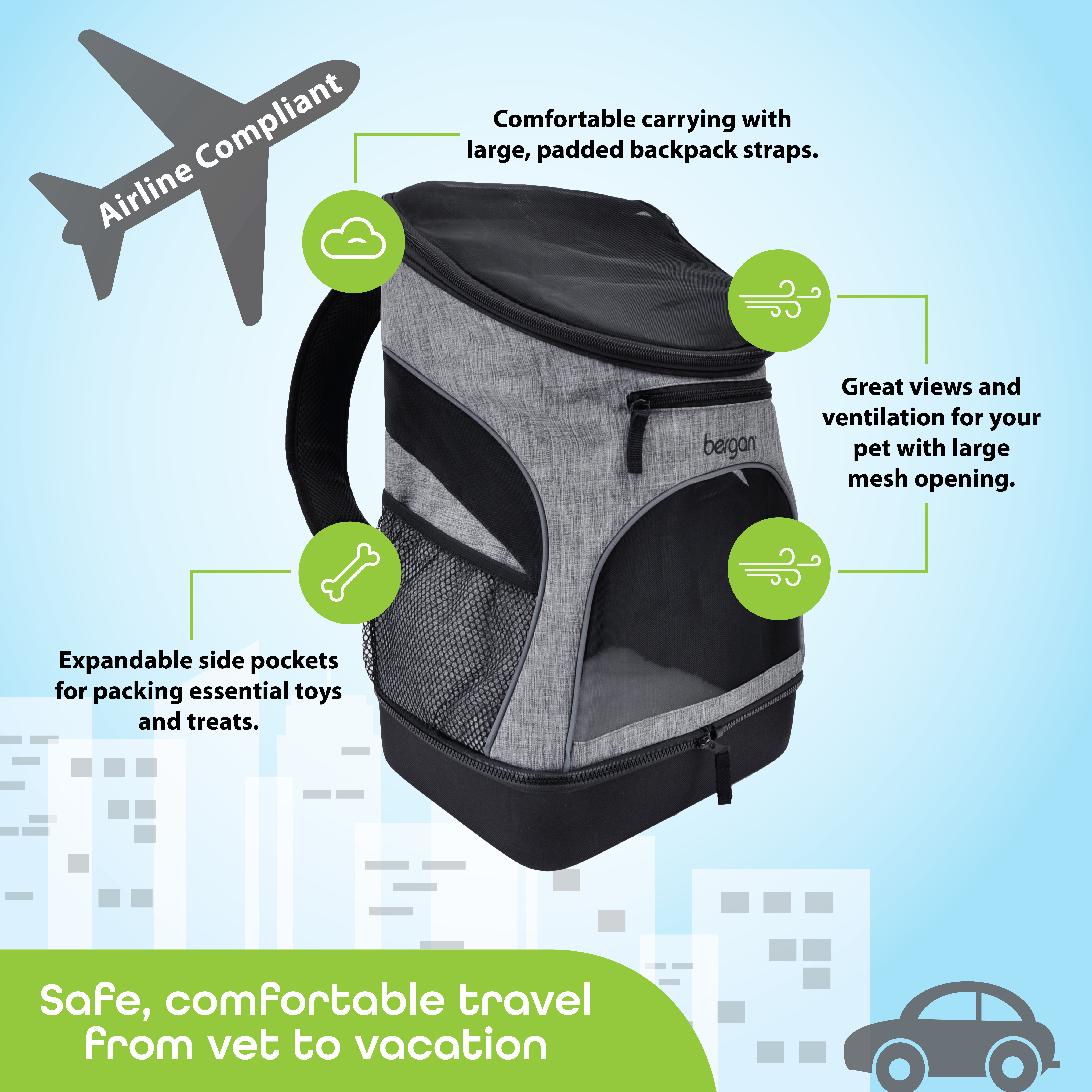 Bergan® Backpack Pet Carrier™