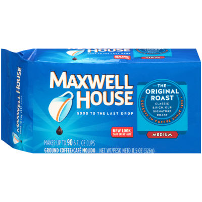 Maxwell House Original Roast Ground Coffee, 11.5 oz