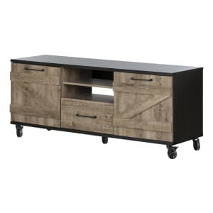 Valet - Industrial TV Stand on Wheels