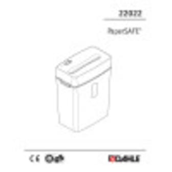 Dahle PaperSAFE® 22022 Shredder User Guide