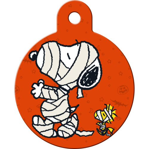 Snoopy Mummy Large Circle Quick-Tag 25 Pack