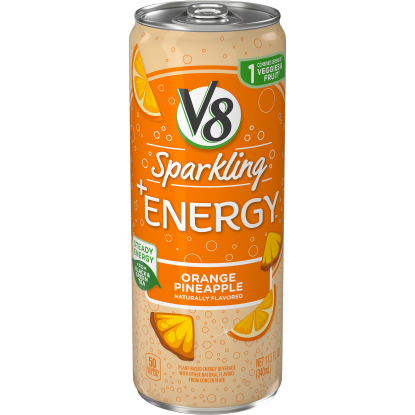 Sparkling +Energy Orange Pineapple