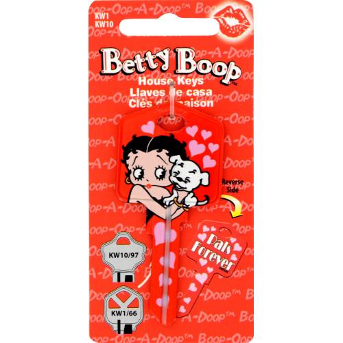 Betty Boop Pals Key Blank Kwikset 66/97 KW1/10