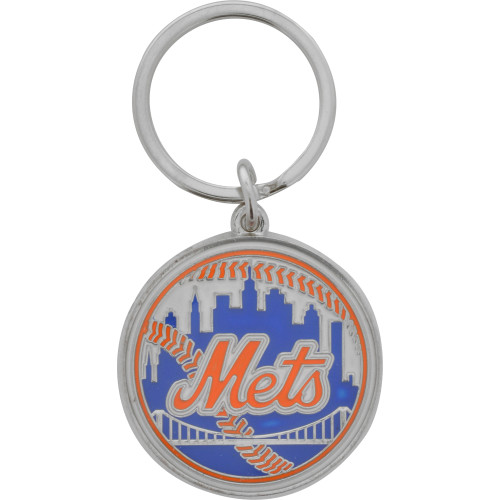 MLB New York Mets Key Chain