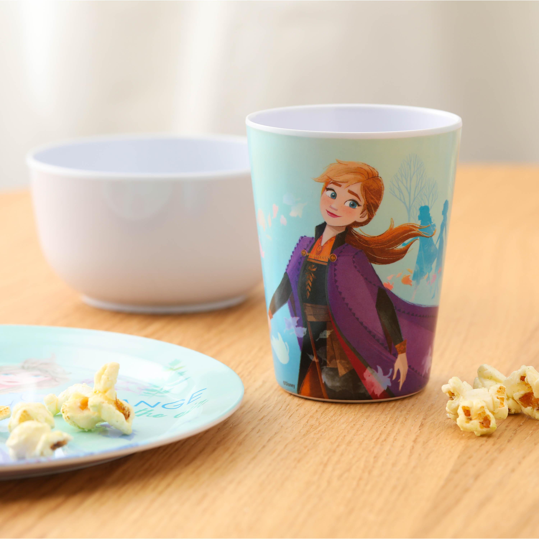 Disney Kid's Dinnerware Set, Frozen 2 Movie, 3-piece set slideshow image 4