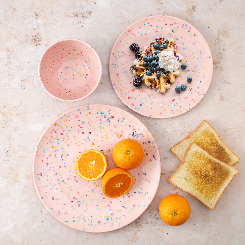 Confetti Dinnerware Set, Multicolored, 12-piece set slideshow image 5