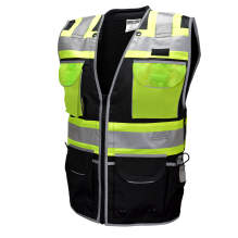 Radians SV55-1 Type O Class 1 Heavy Woven Two Tone Engineer Vest