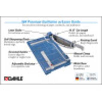 Dahle 564 Premium Guillotine InfoGraphic