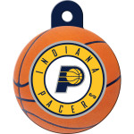 Indiana Pacers Large Circle Quick-Tag