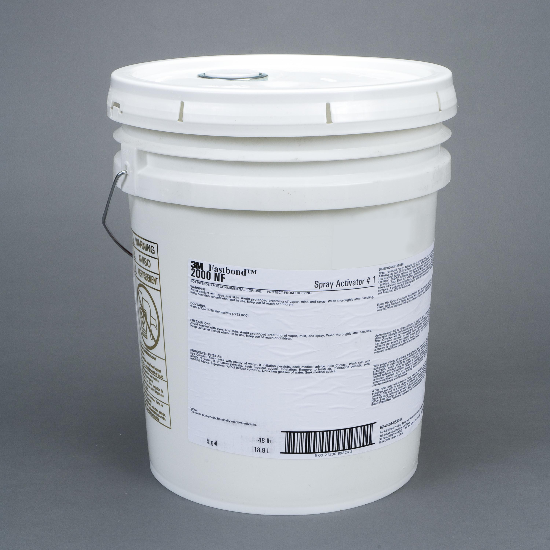 3M™ Fastbond™ Spray Activator 1, 5 Gallon Pour Spout Drum (Pail)