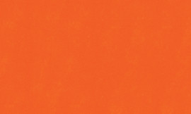 Crescent Deep Orange 32x40