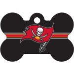 Tampa Bay Buccaneers Large Bone ID Spot Tag