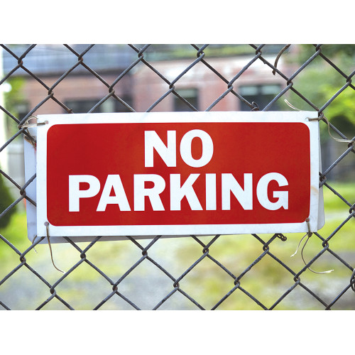 No Parking Sign (6