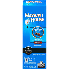 Maxwell House Original Roast Coffee K-Cup Pods, 3 count