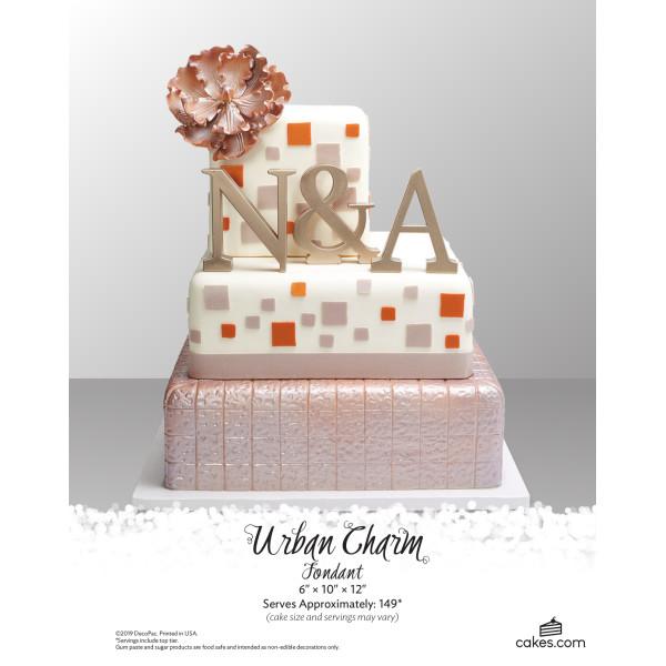 Urban Charm Fondant Wedding The Magic of Cakes® Page