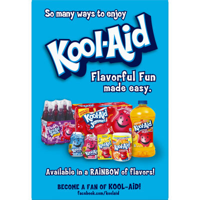 Kool-Aid Singles Sugar-Sweetened Tropical Punch Powdered Soft Drink, 12 - 0.55 oz Packets