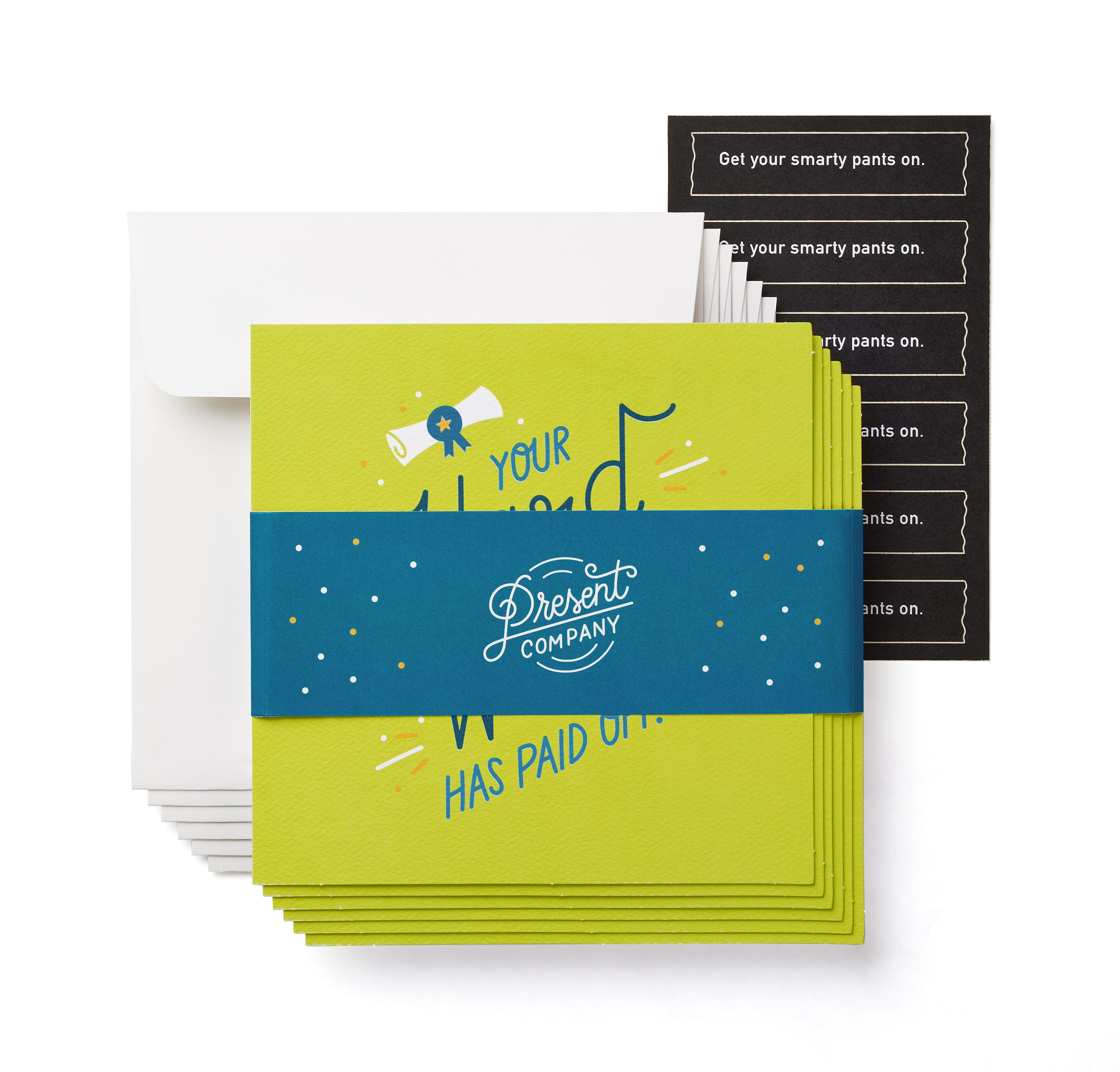Hard Work Graduation Card, 6-Count image