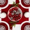 Confetti 3 quart Serving Bowl, Eggshell White slideshow image 3