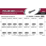 Polished Stainless Smooth-Head-Head Socket Cap Screws Assortment (SAE)