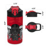 Star Wars 16 ounce Water Bottle, Darth Vader and Yoda, 2-piece set slideshow image 4