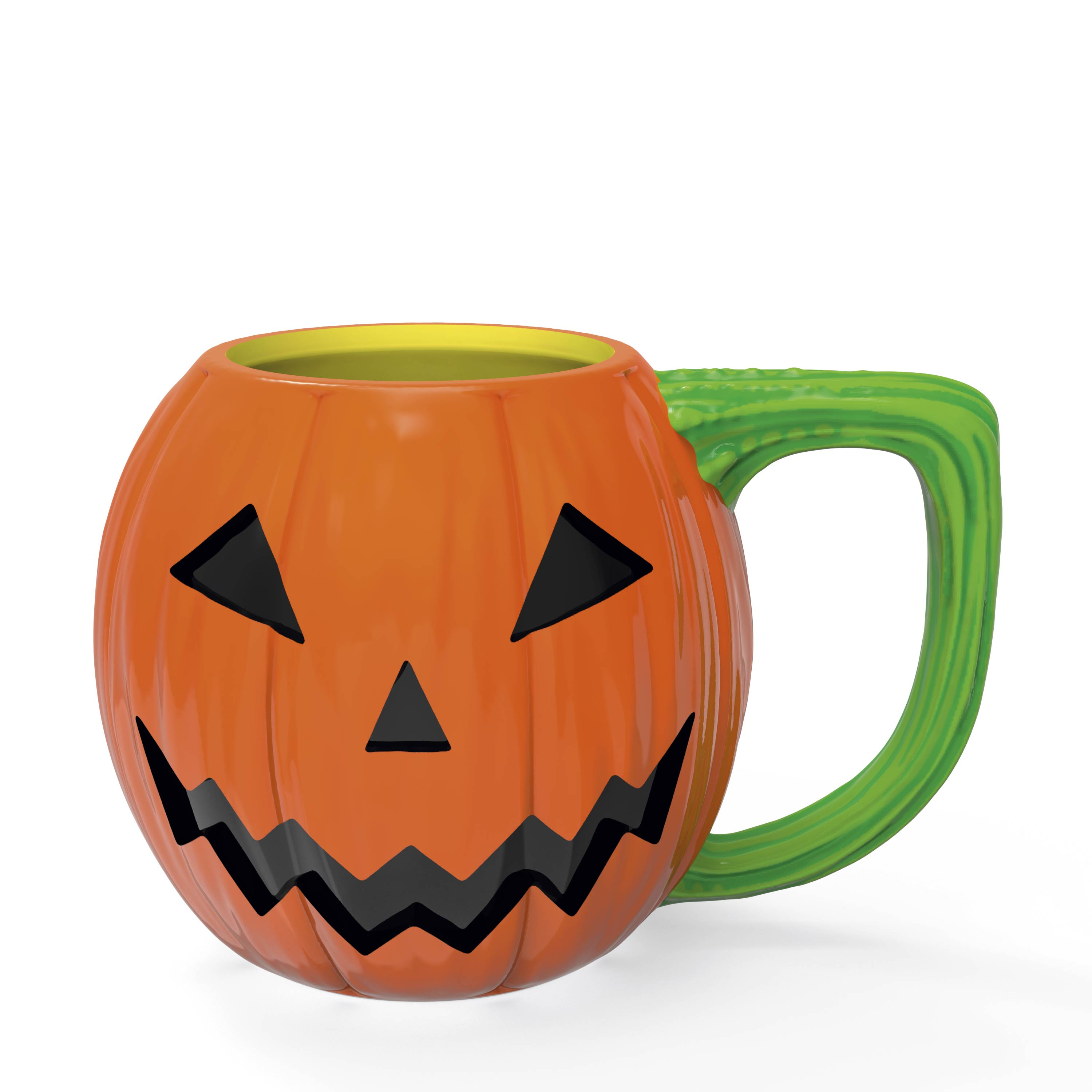 Halloween 15 ounce Coffee Mug and Spoon, Jack O' Lantern slideshow image 7