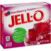Jell-O Blackberry Fusion Gelatin Mix, 3 oz Box