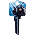 Disney Pirates of the Caribbean - Jack Sparrow Key Blank