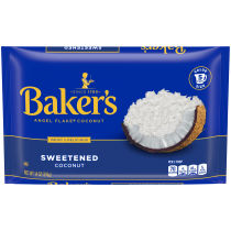 BAKER'S Angel Flake Sweetened Coconut 14 oz Bag