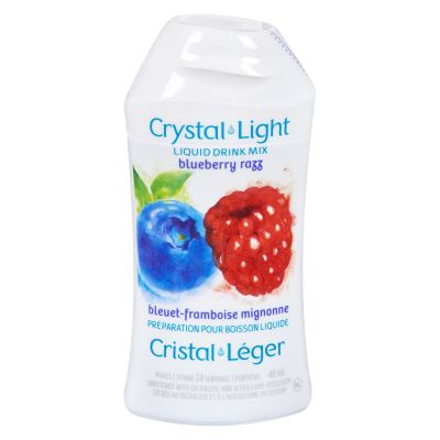 Crystal Light Liquid Drink Mix, Blueberry Razz