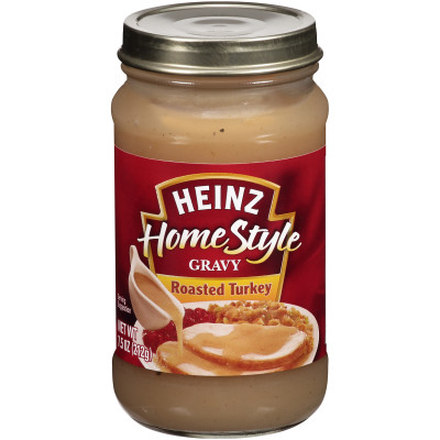 Heinz Home-style Roasted Turkey Gravy 7.5 oz Jar
