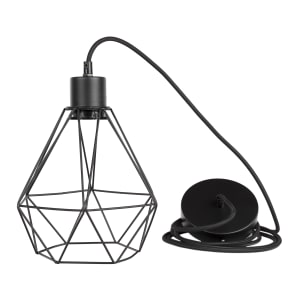 Plog-it - Hanging lamp with geometric shade