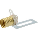 Screw Base Socket with Universal Bracket
