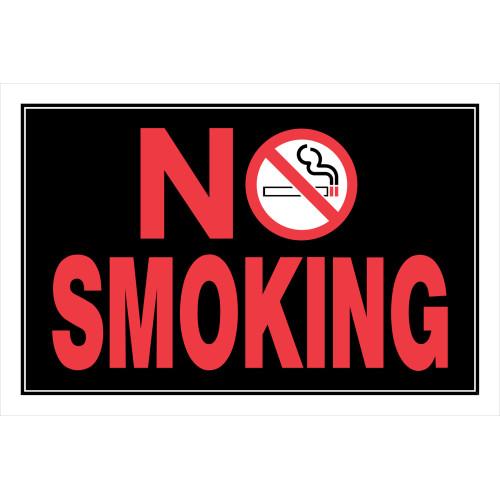 No Smoking Sign with Symbol (8