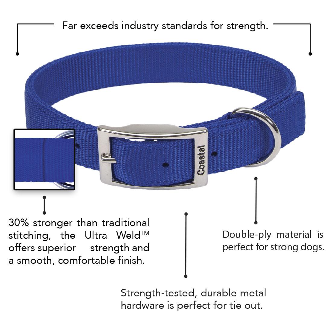 Coastal® Double-Ply Dog Collar
