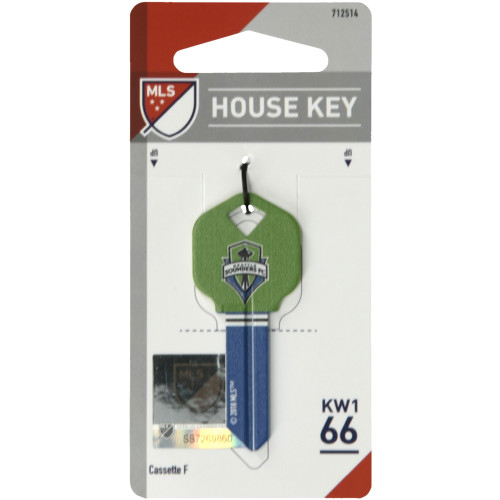 Seattle Sounders Key Blank (KW1)
