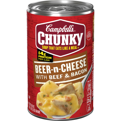 Beer-n-Cheese with Beef & BaconSoup