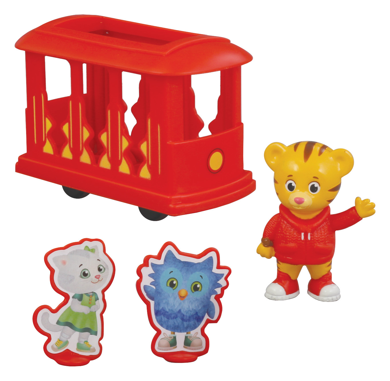 Daniel Tiger S Neighborhood 174 Trolley Friends Decoset