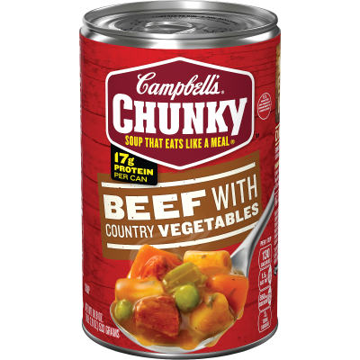 Beef with Country Vegetables Soup