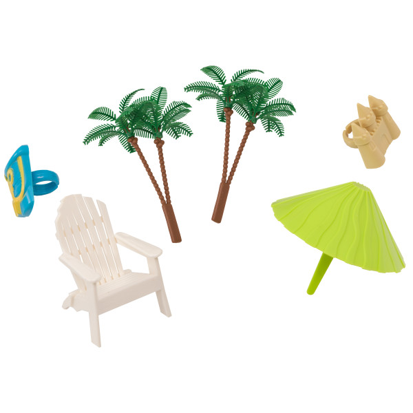 Beach Chair & Umbrella DecoSet®
