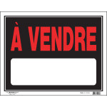 """French For Sale Sign (15"""" x 19"""")"""
