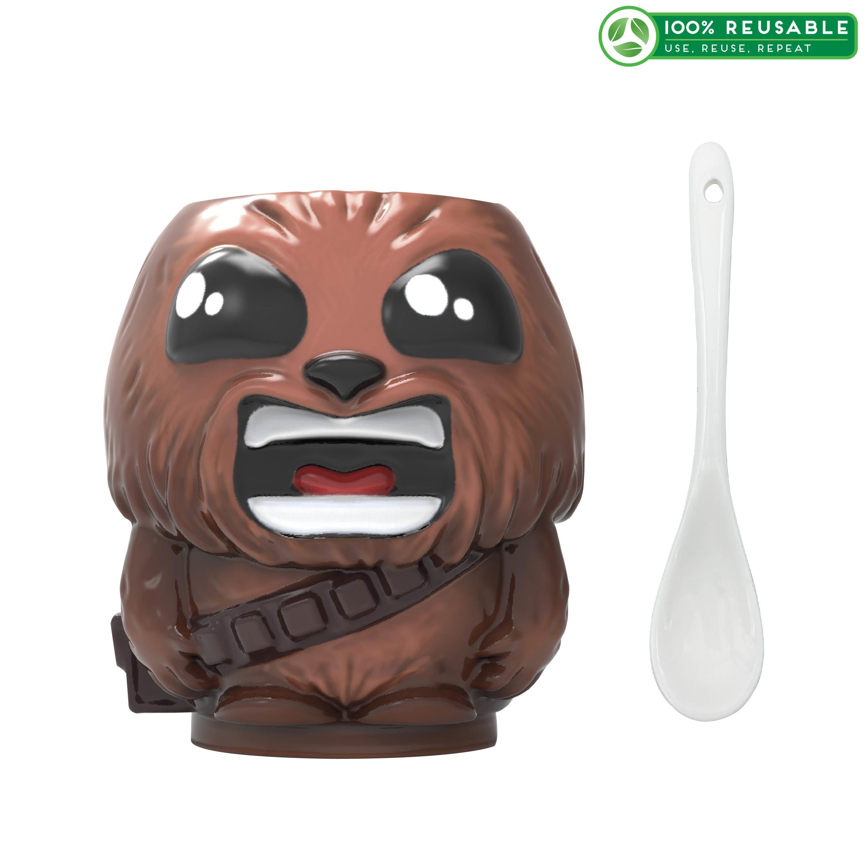 Star Wars 13 ounce Coffee Mug and Spoon, Chewbacca slideshow image 1
