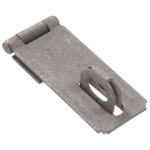 Hardware Essentials Fixed Staple Safety Hasps Galvanized