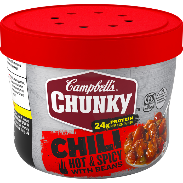 Hot & Spicy Beef & Bean Chili
