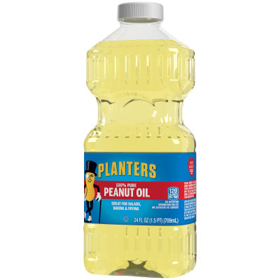 Planters Peanut Oil, 24 oz Jar