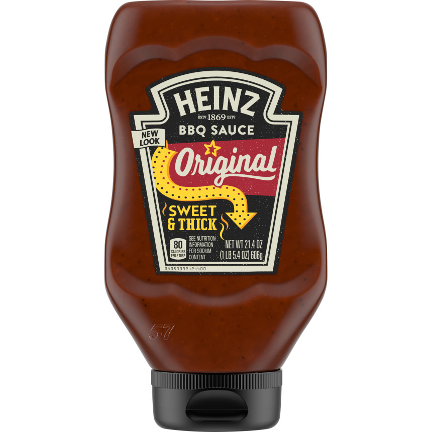 Heinz Classic Original Barbecue Sauce, 21.4 oz Bottle image