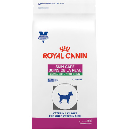 Royal Canin Veterinary Diet Canine Skin Care Small Dog Dry Dog Food