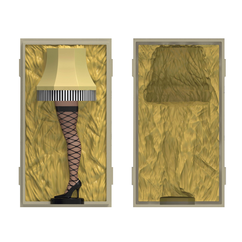 A Christmas Story Salt and Pepper Shaker Set, Leg Lamp, 2-piece set slideshow image 3