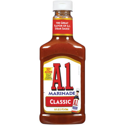 A.1. Classic Steakhouse Marinade 16 fl oz Squeeze Bottle