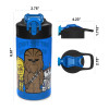 Star Wars 16 ounce Water Bottle, Darth Vader and Yoda, 2-piece set slideshow image 3